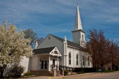 Old South Church. The old South Church located in Kirtland, Ohio stock image