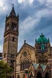 Old South Church, in Boston, Massachusetts. Royalty Free Stock Photo