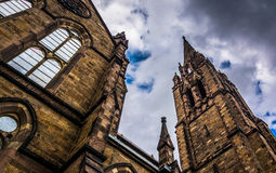 Old South Church, in Boston, Massachusetts. Royalty Free Stock Photos