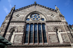 The Old South Church. The historic Old South Church in Boston Massachusetts Stock Image