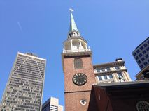 Old South Meeting House stock images