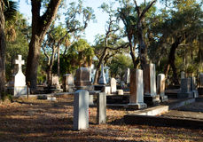 Old southern cemetery Stock Photography