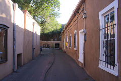 Old Southwestern alley Royalty Free Stock Image