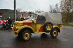 Old Soviet Army truck GAZ-69 Royalty Free Stock Photography