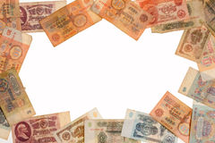old Soviet banknotes Royalty Free Stock Image