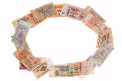 Old Soviet banknotes Stock Photo
