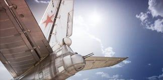 Old Soviet bomber Royalty Free Stock Photos