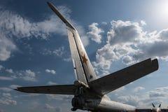 Old soviet bomber Royalty Free Stock Photography