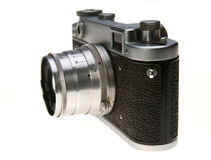 The old Soviet camera Royalty Free Stock Image