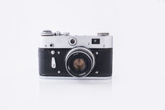 Old Soviet camera Stock Image