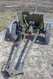 Old Soviet cannon Stock Photos