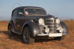 Old Soviet Car. On auto show Royalty Free Stock Photos
