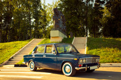 Old soviet car Stock Photography