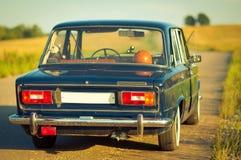 Old Soviet Car Royalty Free Stock Image