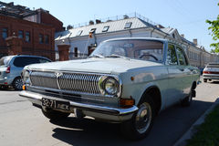 Old soviet car GAZ-24 Volga. Royalty Free Stock Image