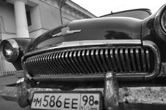 Old soviet car Volga Stock Images