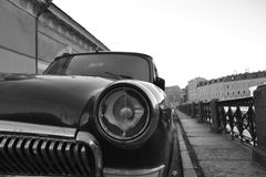 Old soviet car Volga. Royalty Free Stock Photos