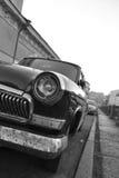 Old soviet car Volga. Stock Photo