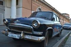 Old soviet car Volga. Royalty Free Stock Photography