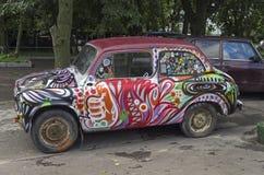 Old Soviet car Zaporozhets ZAZ-965 Stock Photo