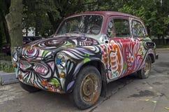 Old Soviet car Zaporozhets ZAZ-965 Stock Images
