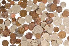 Old soviet coins Royalty Free Stock Photography