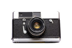 The old Soviet film camera Royalty Free Stock Photography