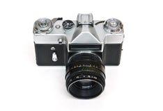 Old Soviet film camera Royalty Free Stock Photo