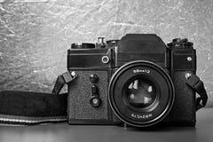 Old Soviet film camera Stock Image