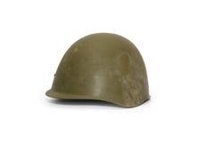 Old Soviet Helmet Stock Image