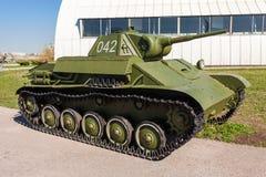 Old soviet light tank T-70 Stock Images