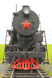 Old soviet locomotive Royalty Free Stock Photos