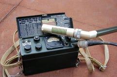Old Soviet military radiometer Royalty Free Stock Photos