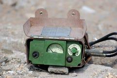 Old Soviet military radiometer Royalty Free Stock Image