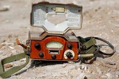 Old Soviet military radiometer Stock Photography