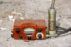 Old Soviet military radiometer Stock Photography