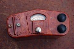 Old Soviet military radiometer Stock Image