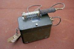 Old Soviet military radiometer Royalty Free Stock Photo