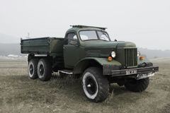 Old soviet military truck Royalty Free Stock Images