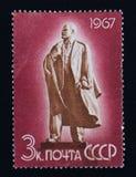 Old Soviet postage stamp, Vladimir Lenin Royalty Free Stock Image