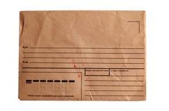 Old Soviet Postal Envelope Stock Images