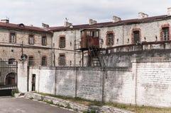 Old Soviet prison in Tallinn Stock Photography