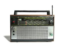 Old soviet radio receiver Stock Photos