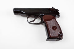 Old Soviet (Russian) pistol Royalty Free Stock Photography