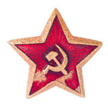 Old soviet star Royalty Free Stock Images
