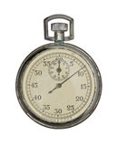 Old Soviet stop watch. Royalty Free Stock Image