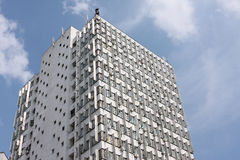 Old soviet style skyscraper Stock Image