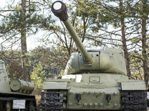Old soviet tank Royalty Free Stock Image