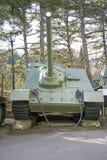 Old soviet tank Royalty Free Stock Photos
