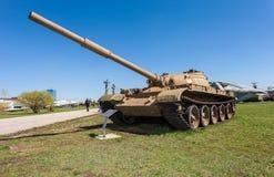 Old soviet tank T- 62 Royalty Free Stock Photography